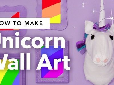 DIY Unicorn Wall Art ???? ???? ✨