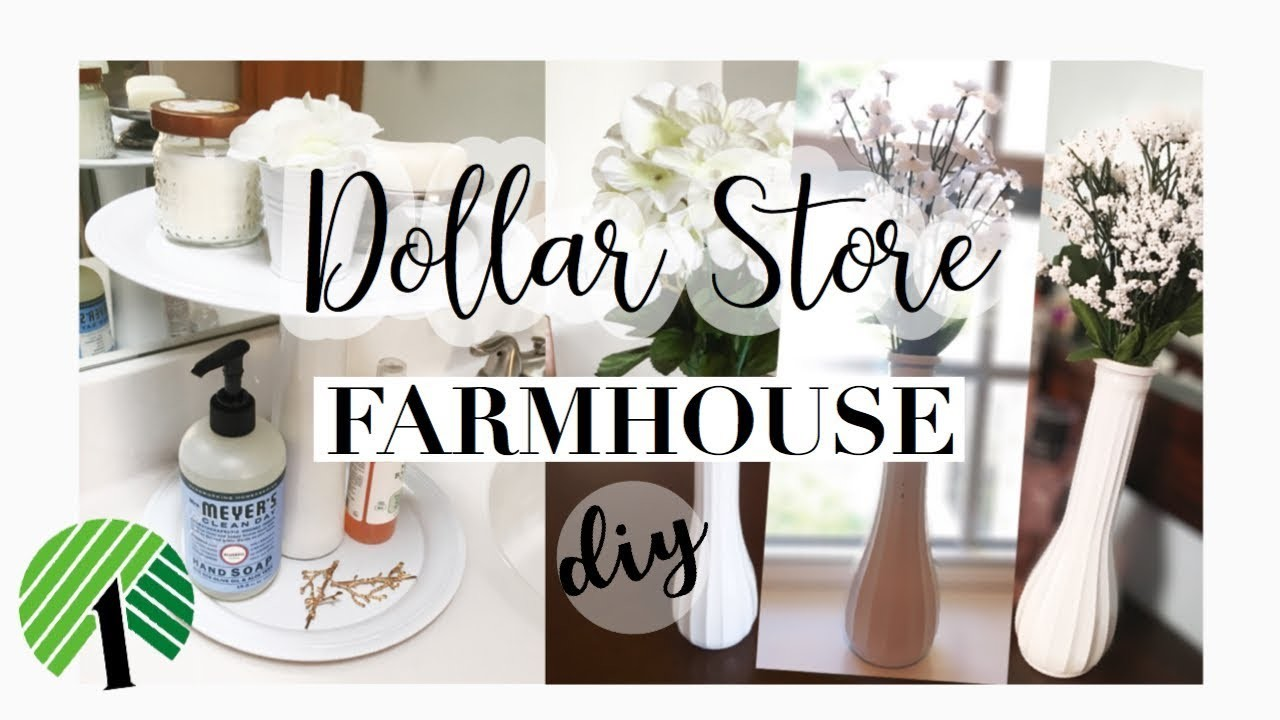 Dollar store farmhouse decor easy ceramic look tiered for Decor 77