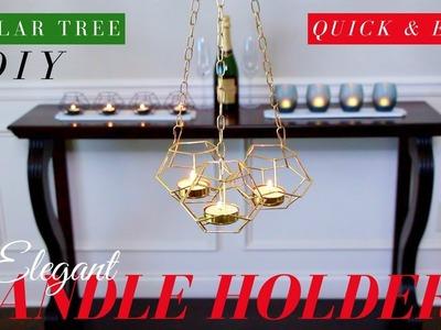 Dollar Tree DIY Candle Holders | Dollar Tree DIY Room Decor | ONLY $4.