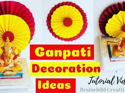 Easy And Quick Ganpati Decoration Ideas   DIY Decoration Ideas
