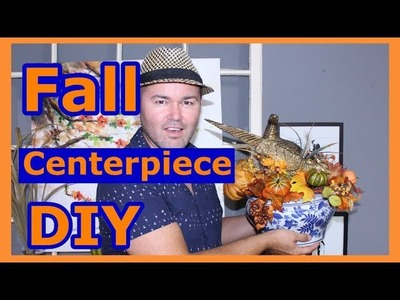 Fall Centerpiece DIY Ideas. Autumn Centerpiece On A Budget 2018 (forRound Table )