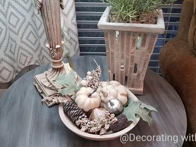 Fall Diy Vase Filler Refresh.Plus Decorating Ideas