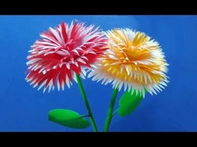 Flower stick 5 - How to make paper flower stick | DIY flower stick