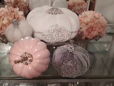Glam diy fall decor