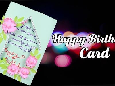 Handmade Birthday Card | DIY Greeting Cards for Birthday | Birthday Gift Card