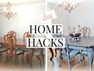 HOME HACKS TO SAVE YOU MONEY! | HOME TIPS AND TRICKS | DIY + DUPES