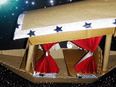 House boat.boat.boat from cardboard.how to make a boat from cardboard.paper craft boat.art and craft