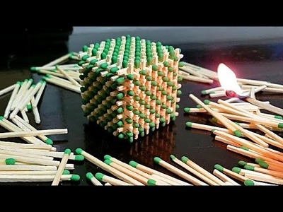How to Make a Match Cube (DIY)
