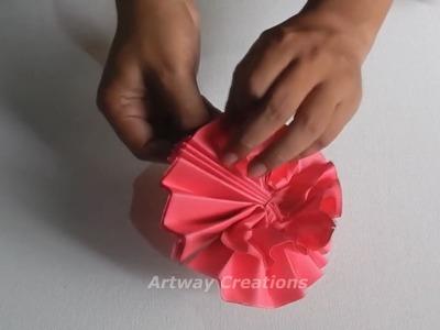 Flower Diy Flower Napkin Rings Using Paper Towel Tubeeverydayfun