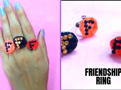 How to make friendship ring!Easy DIY ring!Best last minute gift for friends
