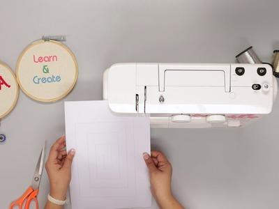 Lesson 02: How to Sew on paper (Kannada)