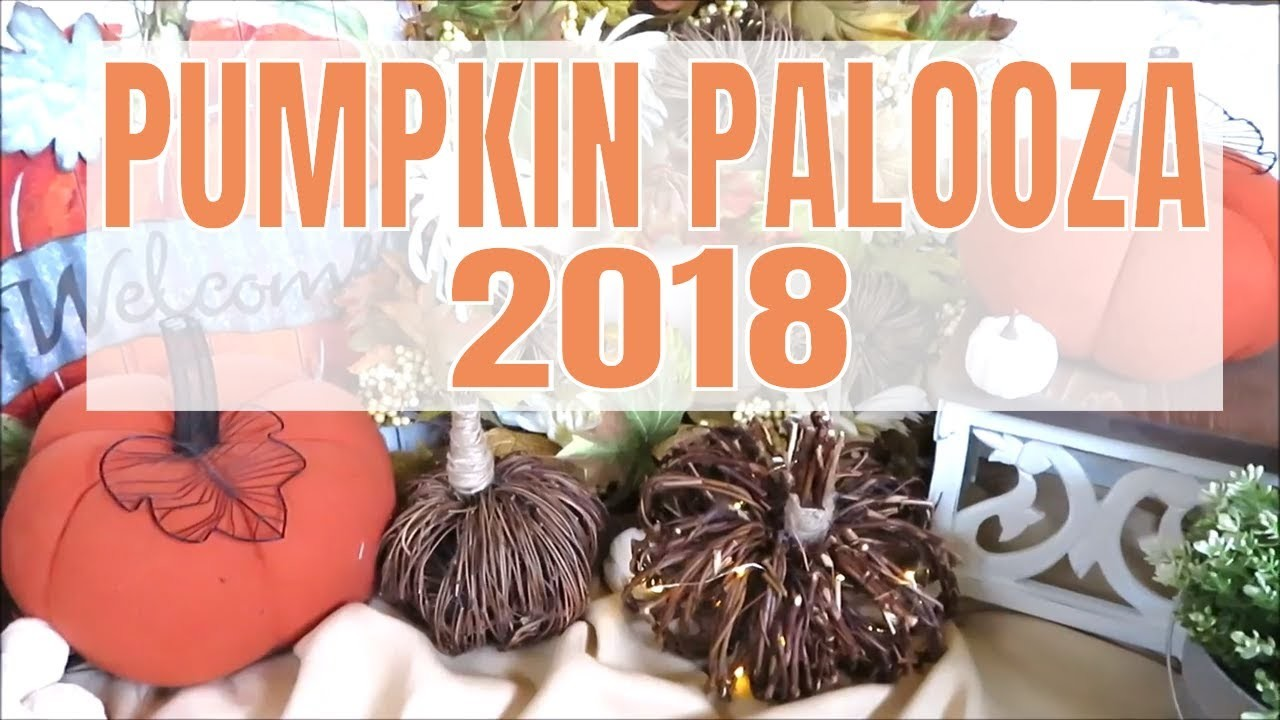 PUMPKIN PALOOZA 2018 | $5 Fall Decor DIY!