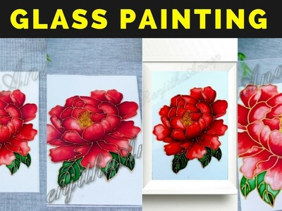 Quick and Easy Glass Painting. How to use vitrail glass paint. DIY