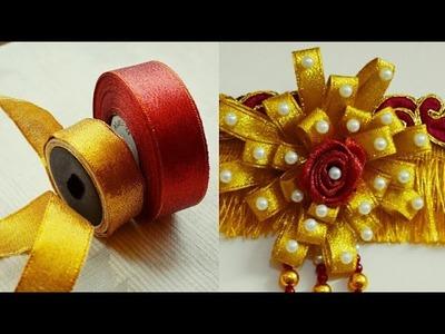 Ribbin Flower Making. DIY. Easy steps