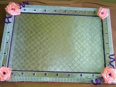 Wedding tray decoration DIY#SS Krafts