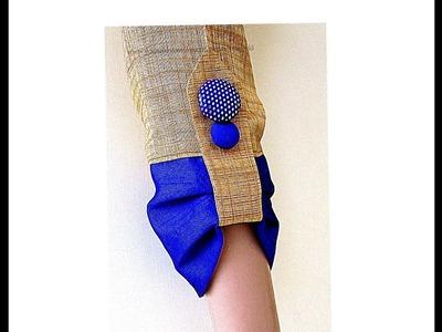 Beautiful Sleeves Design for Kameez | Kurti | Churidars - DIY
