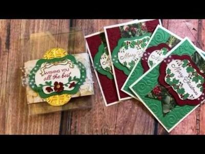 Blended Seasons Christmas Card Gift Set Stampin' Up!