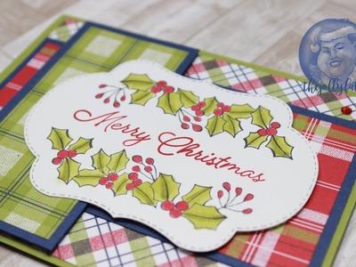 Blended Seasons Color Your Season Christmas Card