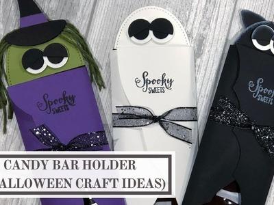Candy Bar Holder (3 Halloween Craft Ideas)