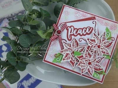 Card Making Magic - Layered Christmas Poinsettia