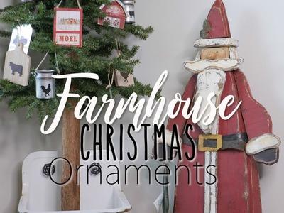 Christmas Farmhouse Ornaments Decor Haul 2018