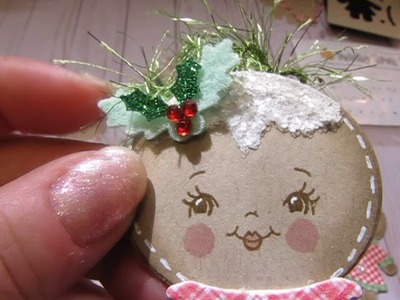 Christmas in August 2018 : Gingerbread Tags; and more!