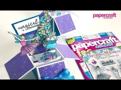 Christmas Pop-Up Box Card Tutorial