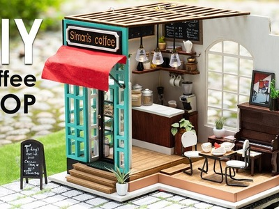 DIY Coffee Shop Dollhouse | RoLife GIVEAWAY ENDED