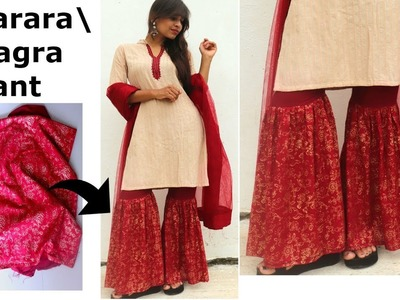 Diy GHAGRA.SHARARA Pant for Festive & Wedding Season | Step by Step Tutorial