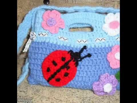 DIY.handmade crochet bag-borsa al uncinetto-bolsita tejida a croche
