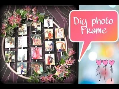 #DIY PHOTO FRAME    cute , easy & affordable diy idea .