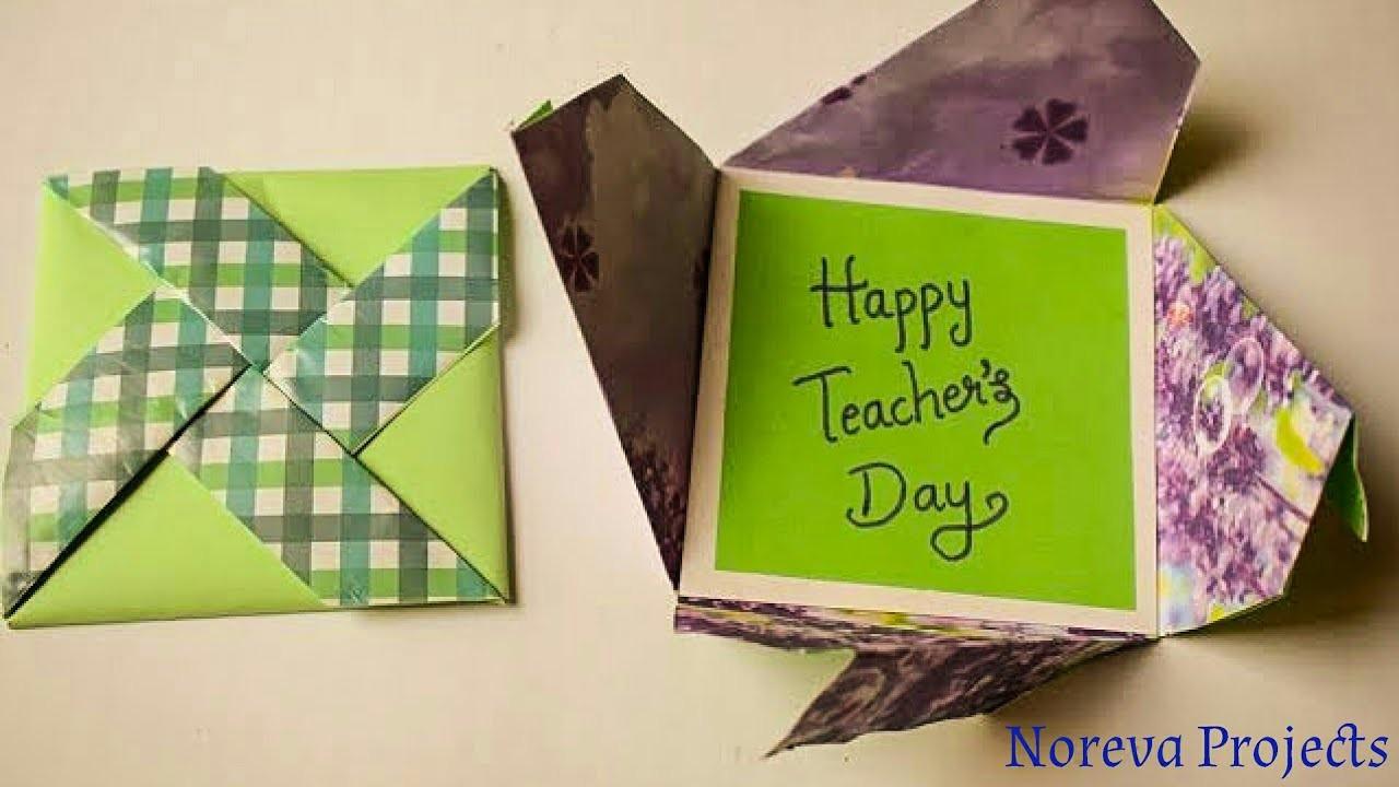 diy teachers day card handmade teachers day pinwheel card