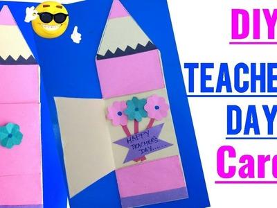 DIY Teacher's Day card | Teacher's day card making idea | Teachers day card