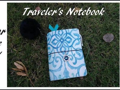 Dollar Tree DIY Traveler's Notebook With Pockets