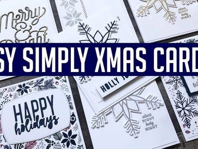 Easy Simple Christmas Cards