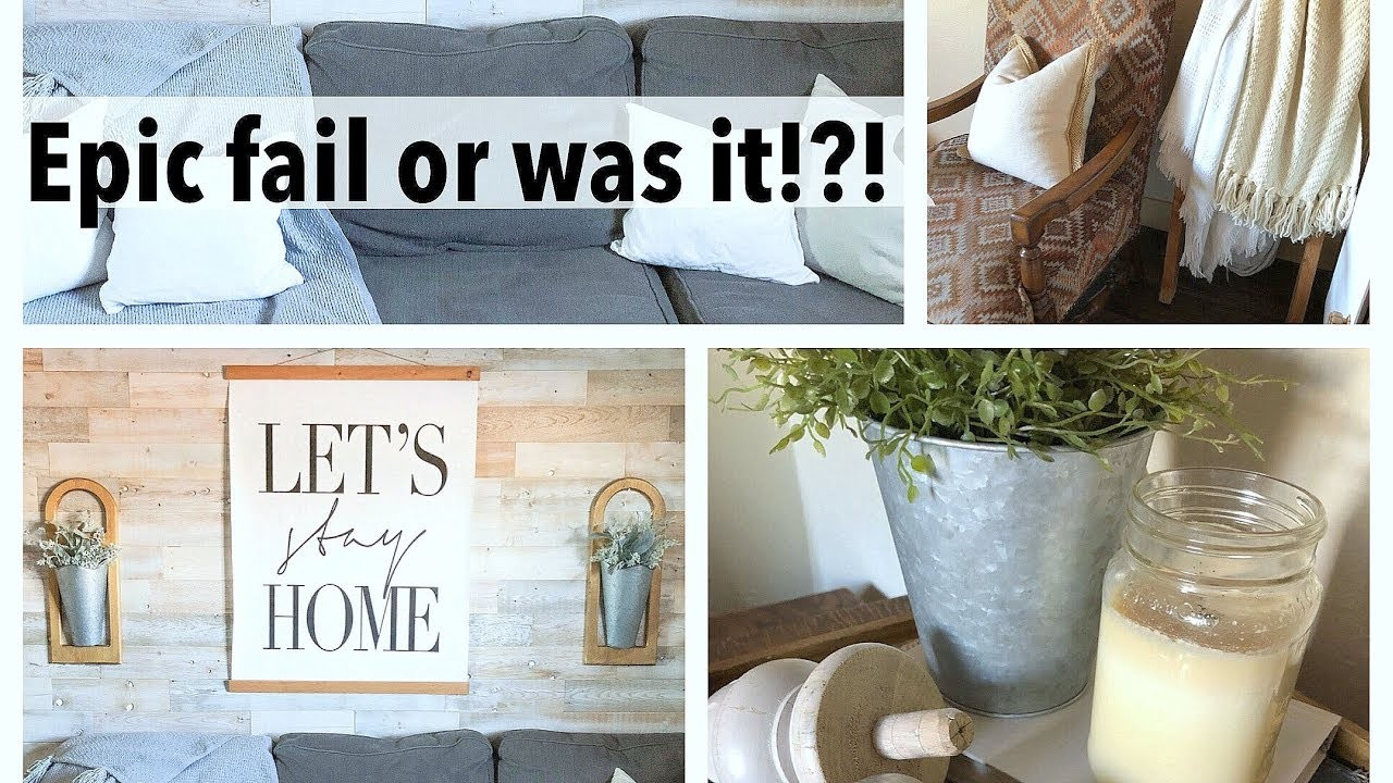 Epic Fail Or Was It?  DIY Chalk Painted Chairs Room Tour