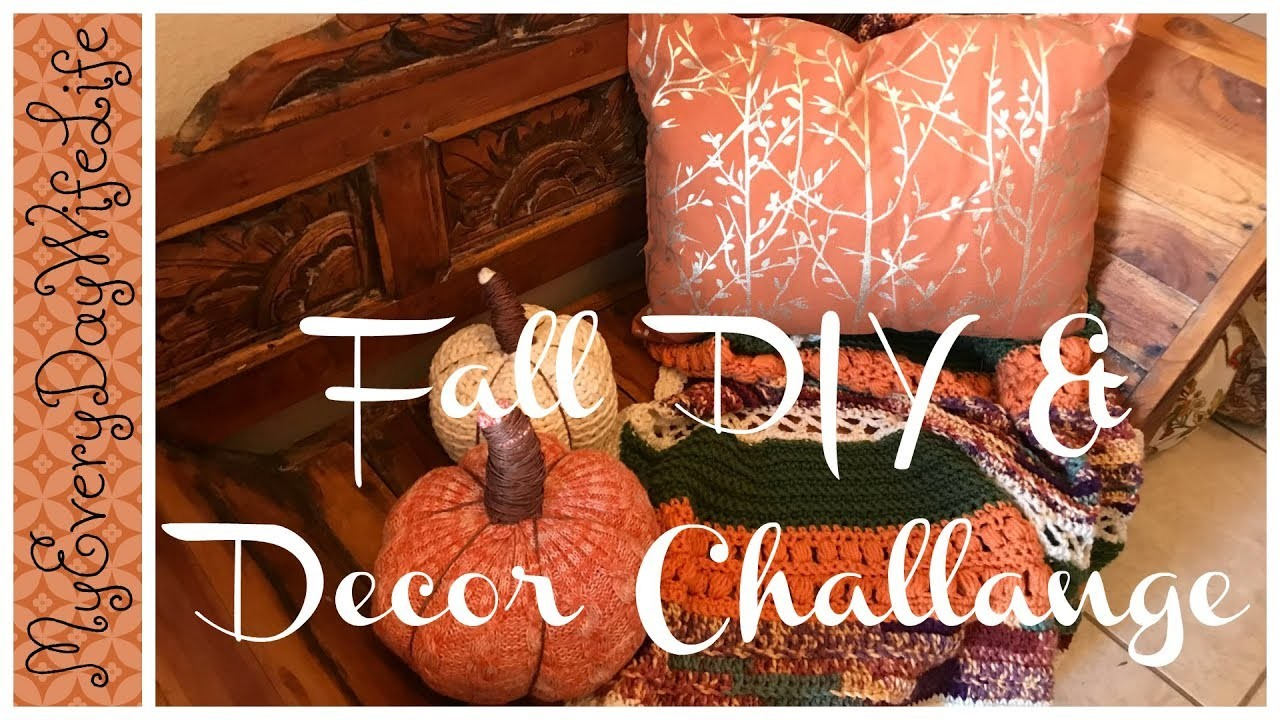 ????Fall DIY & Decor Challenge 2018 || Hosted by DYI Mommy ????