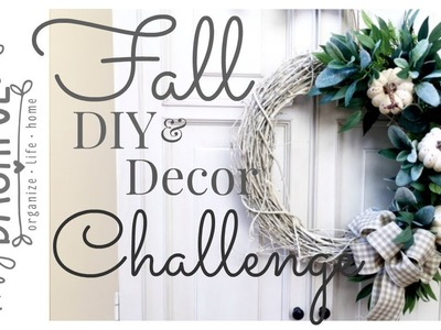 Fall DIY & Home Decor Challenge. The DIY Mommy
