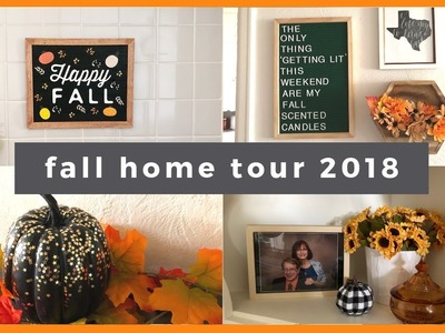 FALL HOME TOUR 2018! DIY MOMMY FALL DECOR CHALLENGE!