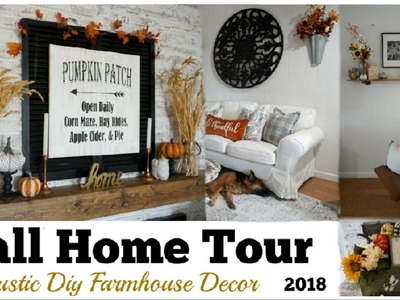 FALL HOME TOUR 2018 | DIY RUSTIC FARMHOUSE DECOR | Momma From Scratch