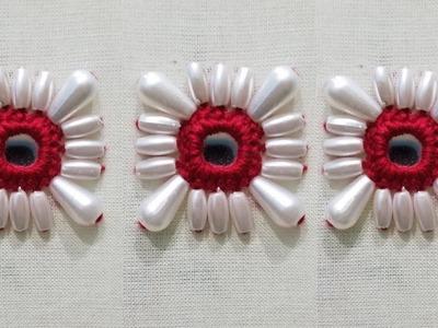 Fancy bead mirror(shisha) work for kurtis and kameez  shisha work  hand embroidery.SK