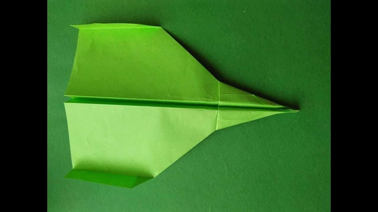 how to make a cool paper airplane that flies far