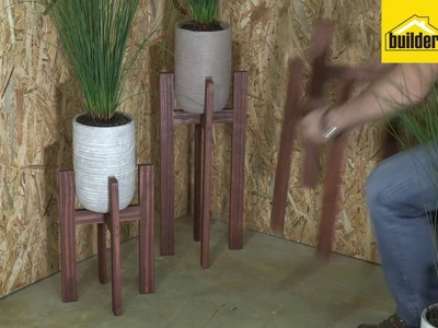 How To Make A DIY Plant Stand