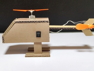 How to Make a Helicopter From Cardboard DIY at Home