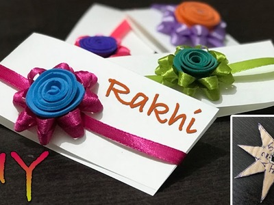 How to make Rakhi with Ribbon | DIY Rakhi Making Ideas at Home