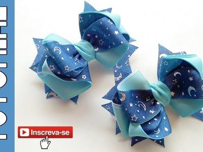 Laço Andrea Fita N5 ???? Ribbon Bow ???? DIY by Elysia Handmade