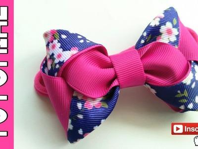 Laço Cecile ???? Ribbon Bow Tutorial ???? DIY by Elysia Handmade