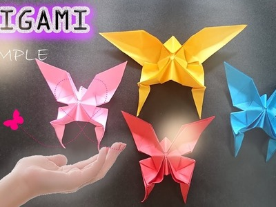 Make paper butterflies the quickest and most beautiful - Easy to make Origami – Paper Magic Top