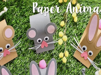 Paper Animals with Katie Skilton! - Summer Holiday Crafts - Sizzix Lifestyle