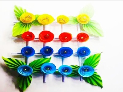 Paper Origami Flower for Wall Hanging, Wedding car, Birthday Party, Home and Wall Decoration